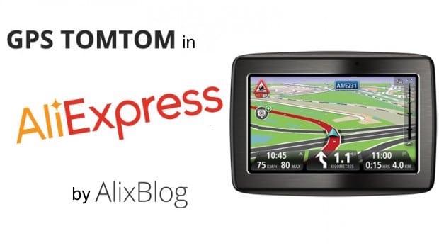 GPS TOMTOM ALIEXPRESS
