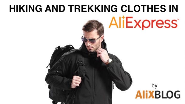 Hiking clothes on AliExpress
