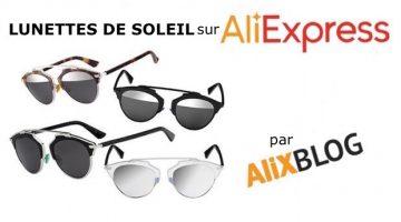 Lunettes de soleil vintage style Dior So Real et autres modèles bon marché sur AliExpress