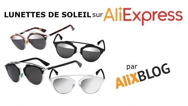 Souvent Lunettes de soleil style Dior So Real bon marché sur AliExpress LP76
