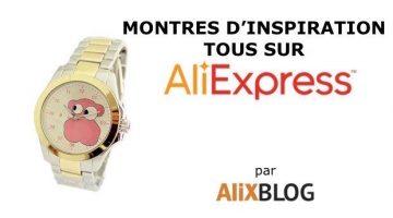 Comment trouver des montres chinoises d'inspiration Tous au meilleur prix (homme, femme, enfant)
