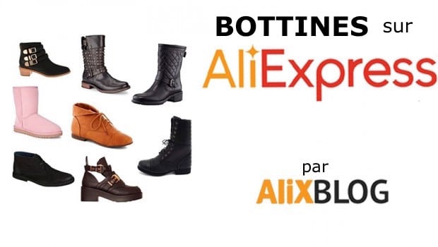 Bottines sur AliExpress