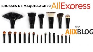Comparatif des brosses de maquillage bon marché sur AliExpress (type SIGMA, Zoeva, NARS, MAC, Urban, Decay, Eco Tools, …)