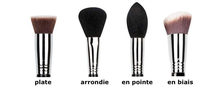 brushes types FRA