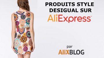 Comment trouver et acheter des produits style Desigual sur AliExpress