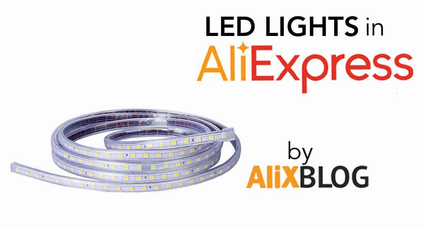 led strips in aliexpress