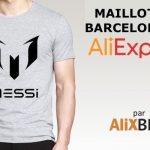 Des maillots du FC Barcelone bon marché sur AliExpress?