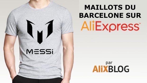 ea3fb211929 Maillots du Barcelone bon marché sur AliExpress