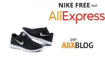 Baskets Nike Free bon marché sur AliExpress – Guide d'achat 2016