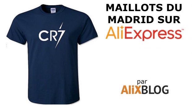 real madrid maillot sur AliExpress