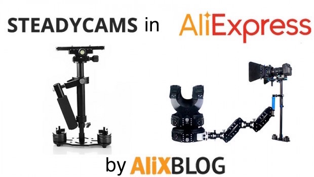 steadycams in AliExpress