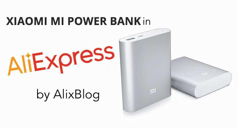 xiaomi power bank in aliexpress