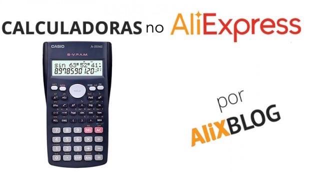 CALCULADORAS no aliexpress