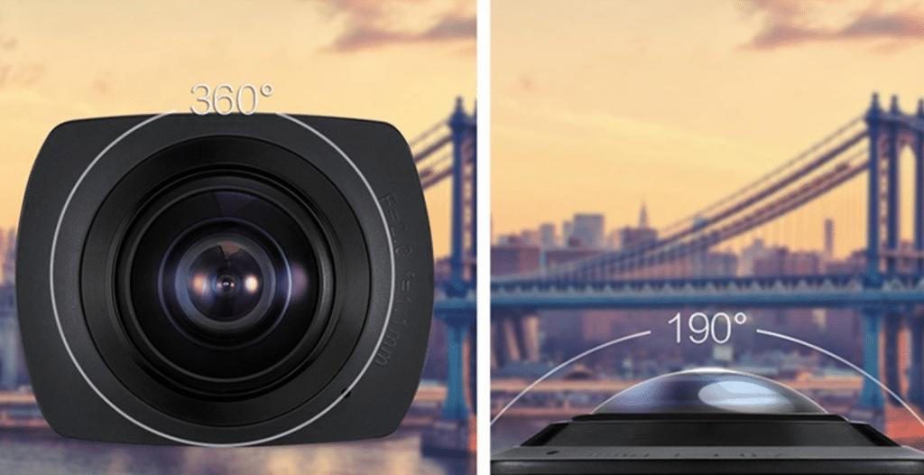 Camara de video 360 grados barata. Compra en china