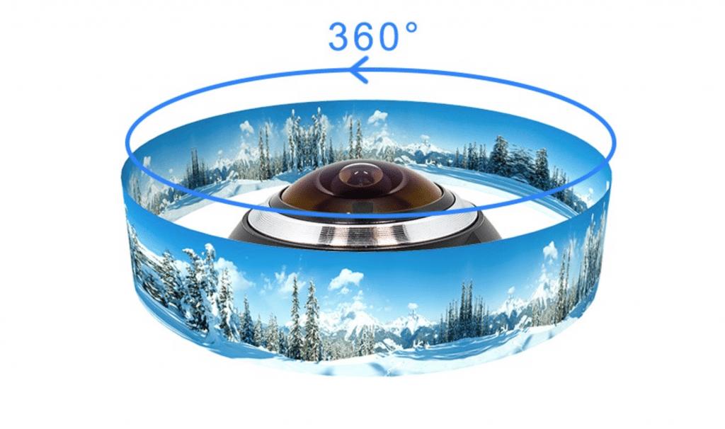 Pano view mejor cámara 360 china