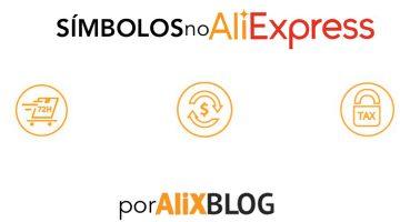 O que significa os símbolos do AliExpress? Guia para entender os ícones