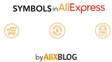 What do AliExpress symbols mean? Guide to AliExpress icons