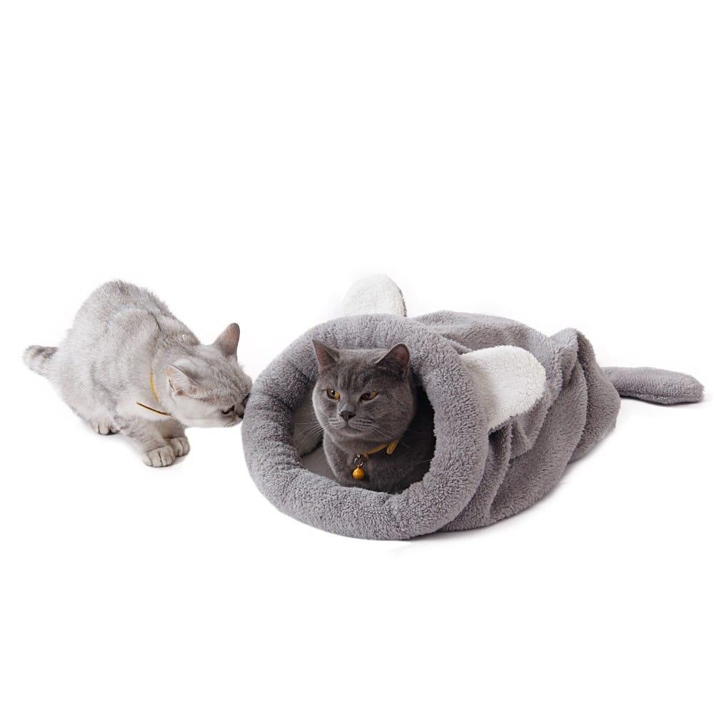 accesorios gato cama saco