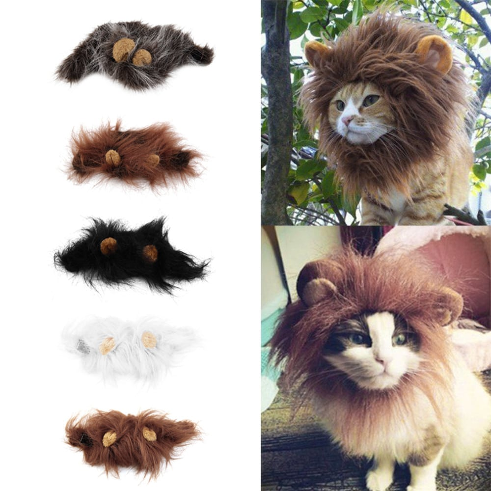 accesorios gato disfraz leon