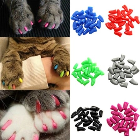 accesorios gato fundas uñas