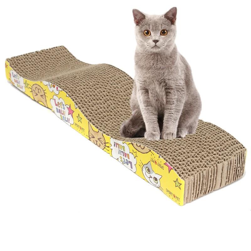 accesorios gato rascador ondulado
