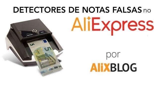 detectores de notas falsas no AliExpress