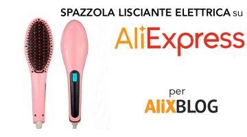 Opinioni e prezzi della Spazzola Lisciante Elettrica su AliExpress