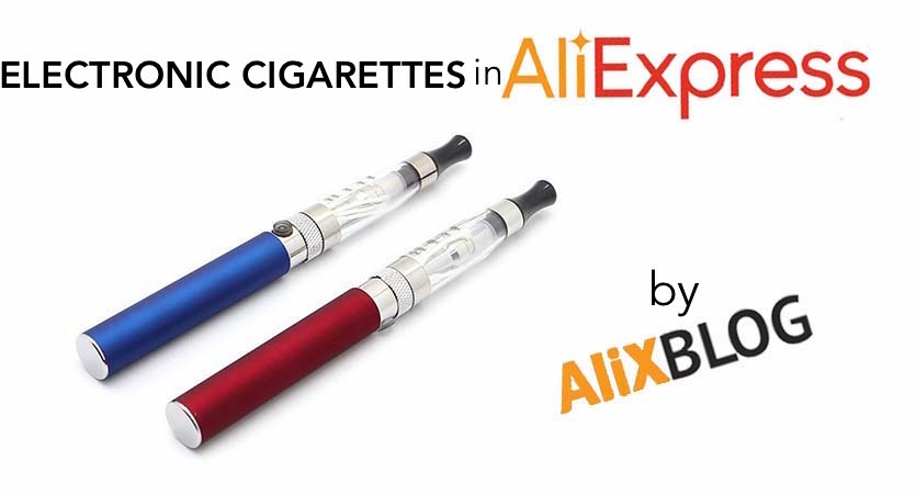 electronic cigarettes in aliexpress