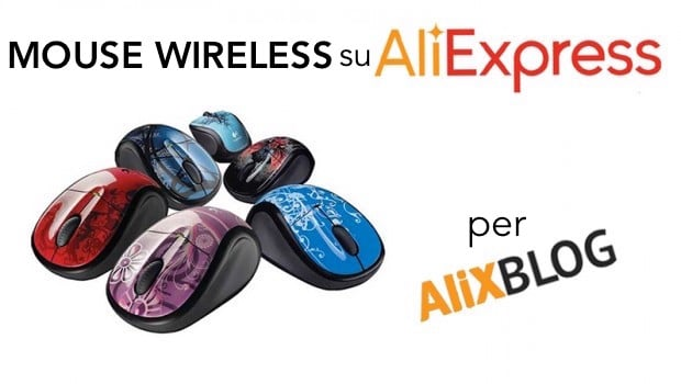 mouse wireless su aliexpress
