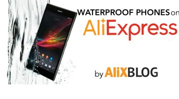 How to find cheap submergible and waterproof phones on AliExpress