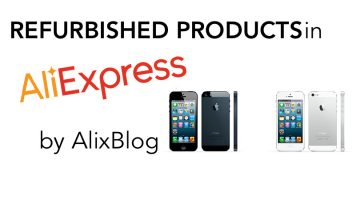 What does it mean when it says an AliExpress product is refurbished?