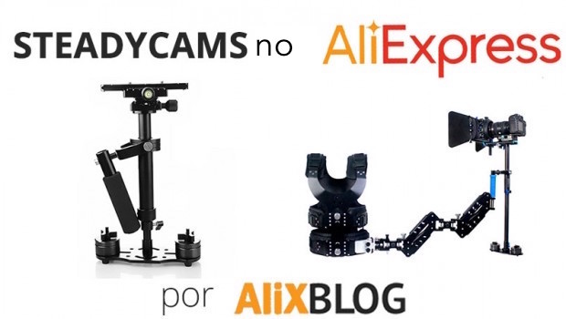steadycams no AliExpress