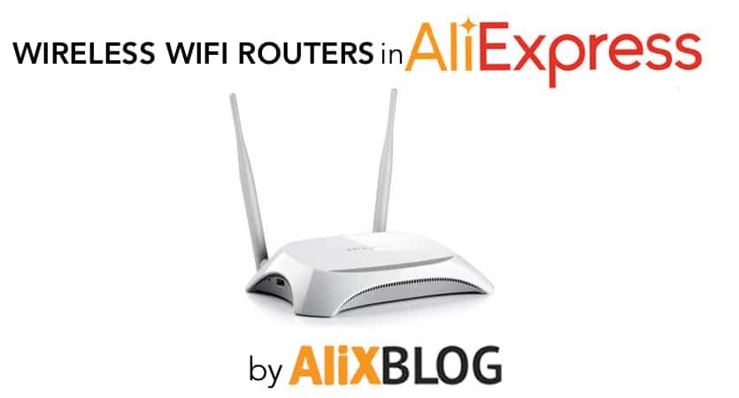 wireless routers in aliexpress