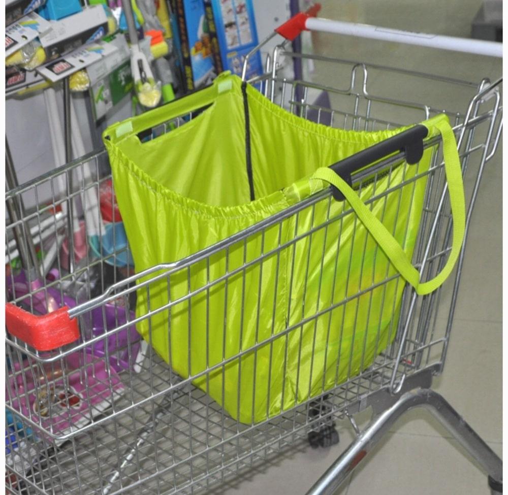 bolsa carro supermercado