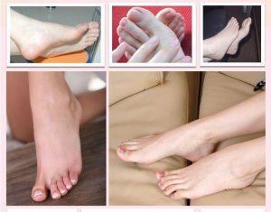 calcetines exfoliantes