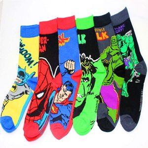 calcetines super heroes