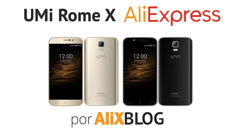 comprar movil UMi Rome X barato en AliExpress