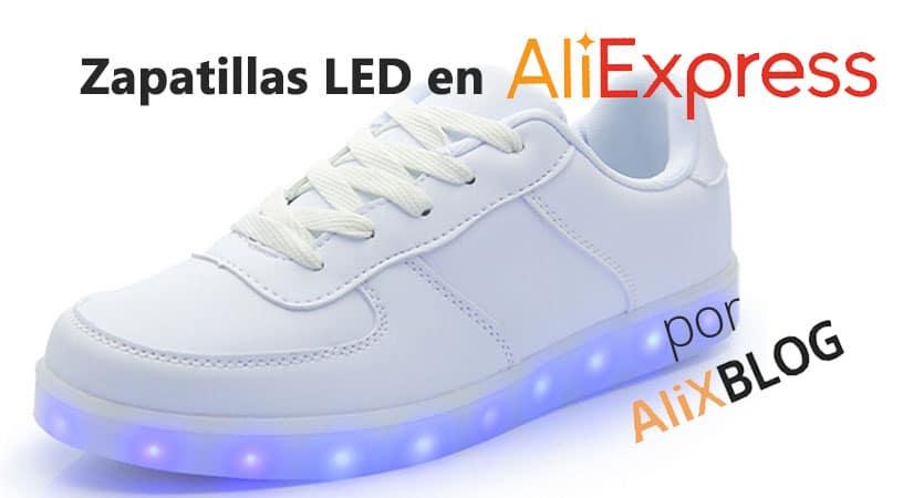 Zapatillas led al mejor precio en AliExpress