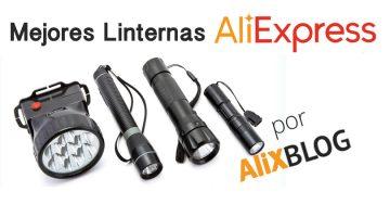 Especial linternas baratas en AliExpress: tipos disponibles y vendedores recomendados