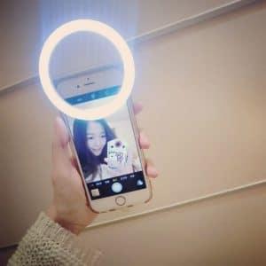 luz selfies