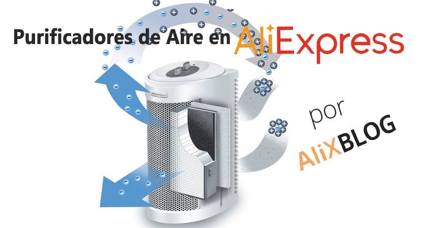 ozonizadores y ionizadores en AliExpress