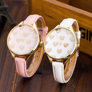 reloj corazones