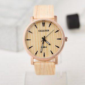 reloj hombre madera