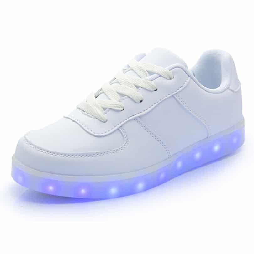 zapatillas led chinas de buena calidad