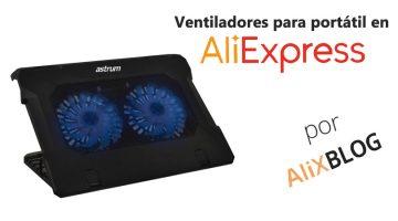 Ventiladores para portátil: cómo encontrar los mejores a muy buen precio en AliExpress