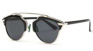Óculos de sol vintage estilo Dior So Real e outros modelos baratos no AliExpress