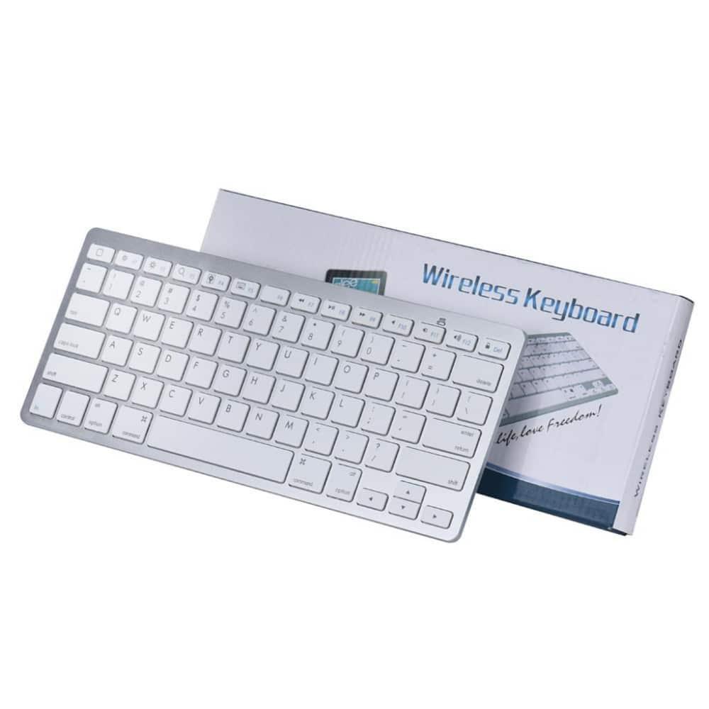 teclado inalambrico ergonomico bluetooth en AliExpress