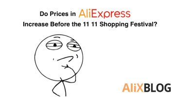 Do AliExpress sellers increase their prices just before the 11 11 shopping festival? We analyzed 9.000 products to find out