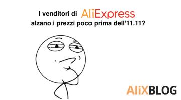 I venditori di AliExpress alzano i prezzi poco prima dell'11.11? Analizziamo 9.000 prodotti per controllare