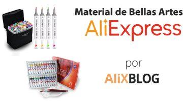 Material barato de bellas artes en AliExpress – Guia 2016